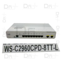 Cisco Catalyst WS-C2960CPD-8TT-L
