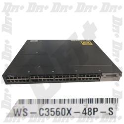 Cisco Catalyst WS-C3560X-48P-S