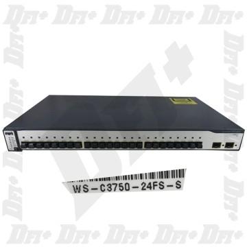 Cisco Catalyst WS-C3750-24FS-S