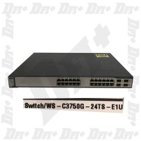 Cisco Catalyst WS-C3750G-24TS-E1U