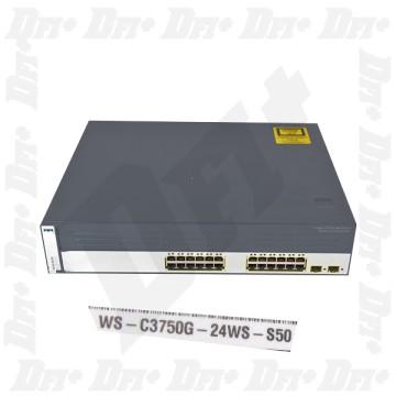 Cisco Catalyst WS-C3750G-24WS-S50