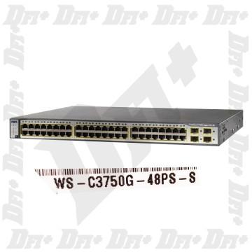 Cisco Catalyst WS-C3750G-48PS-S