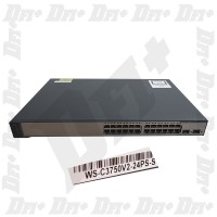Cisco Catalyst WS-C3750V2-24PS-S