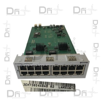 Carte LANX16-2 Alcatel-Lucent OmniPCX OXO - OXE