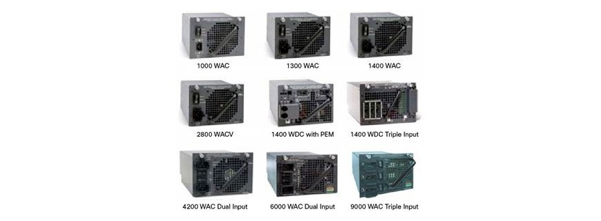 Cisco Catalyst 4500 Power Supply